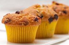 chocolate and raisins muffins  dessert cake 09.jpg