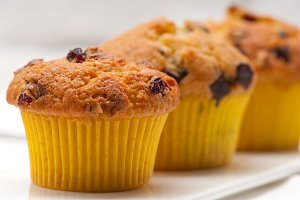 chocolate and raisins muffins  dessert cake 09.jpg