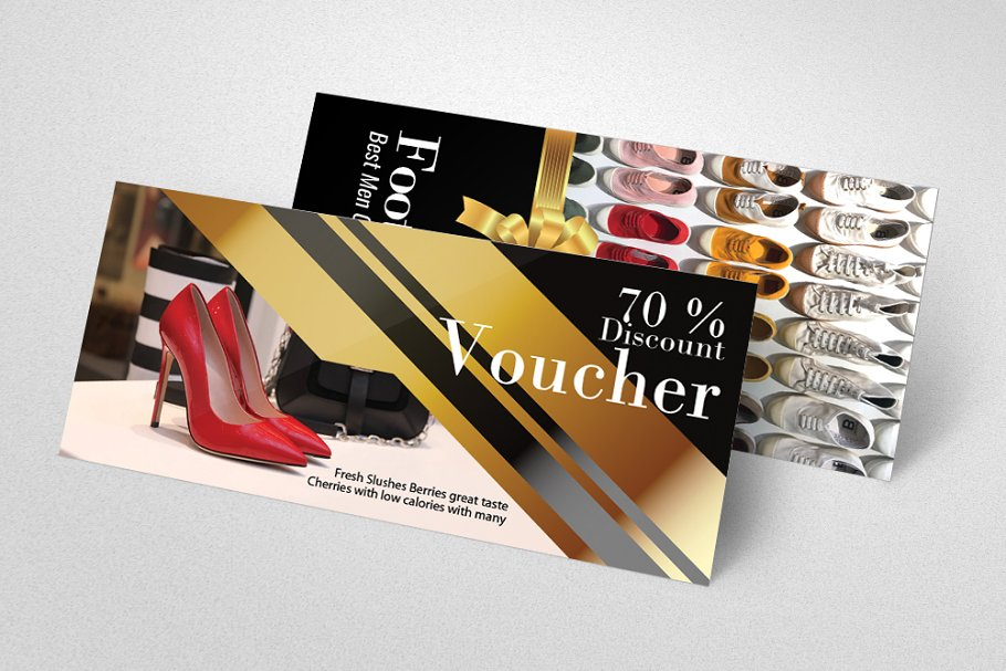 Foot Wear/Shoes Store Gift Voucher