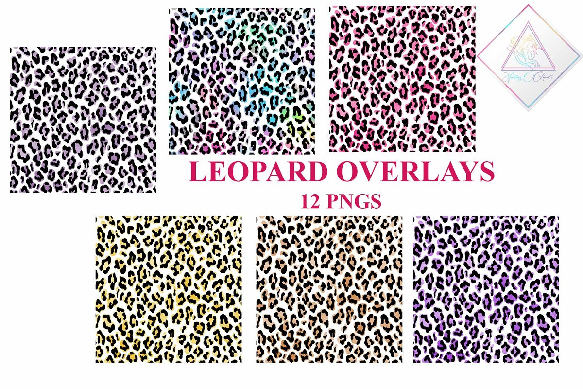 Leopard Pattern Overlay in Illustrations - product preview 8