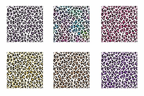 Leopard Pattern Overlay in Illustrations - product preview 1