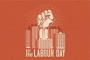 1st May Labour Day poster concept.