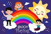 Children Day Illustration