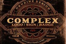 Complex Logos/Signs/Badges v.2