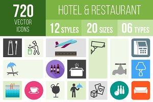 720 Hotel & Restaurant Icons