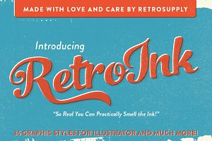 RetroInk | 71 Retro Ink Effects