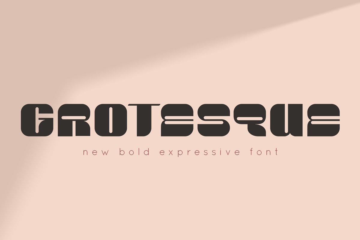 GROTESQUE FONT in Sans-Serif Fonts - product preview 8