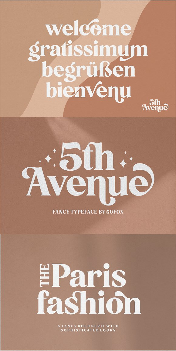 5th Avenue - 25% OFF in Serif Fonts - product preview 34