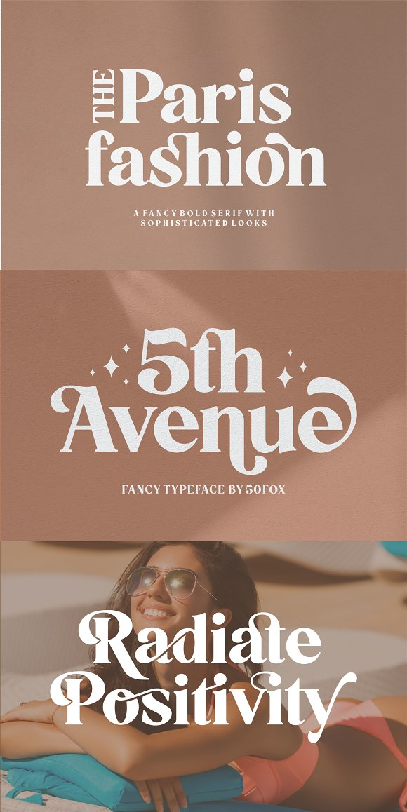 5th Avenue - 25% OFF in Serif Fonts - product preview 35