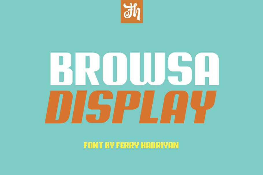 Browsa - Display Font