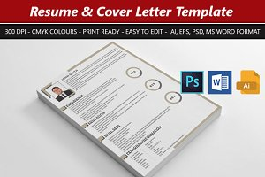 Clean Corporate Resume