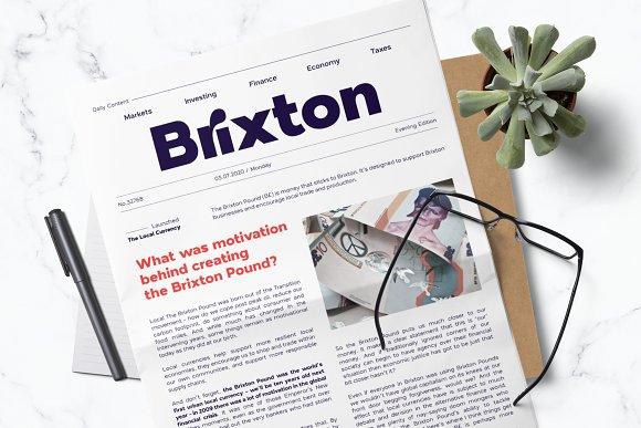 London Bridge - Modern Sans Family in Sans-Serif Fonts - product preview 3