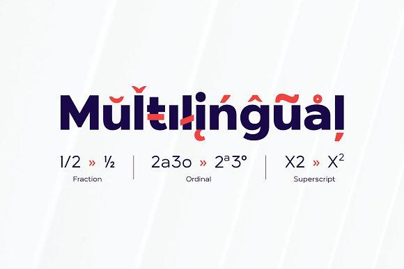 London Bridge - Modern Sans Family in Sans-Serif Fonts - product preview 11