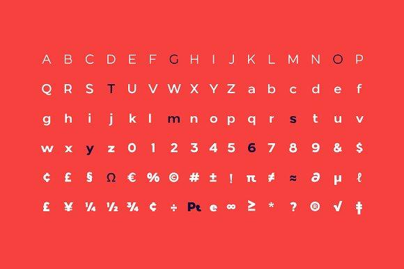 London Bridge - Modern Sans Family in Sans-Serif Fonts - product preview 12