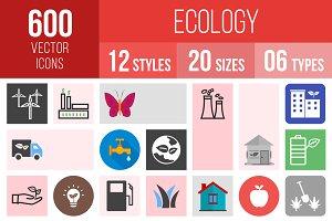 600 Ecology Icons