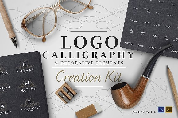 The best logo creator kits creative market