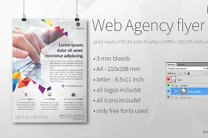 Web Agency flyer