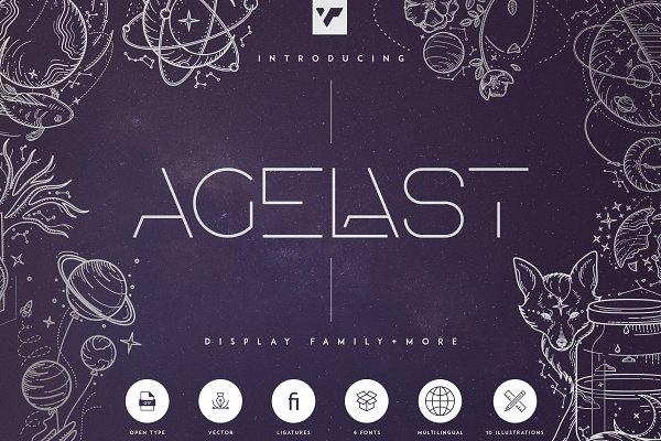 Agelast Display Family + More
