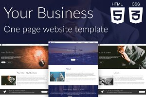 Your Business | Website template