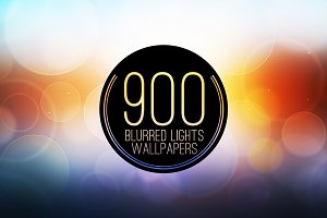 900 Blur Wallpapers (Blurred Lights)