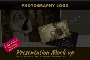Photography Logo Mock Up Vol.1