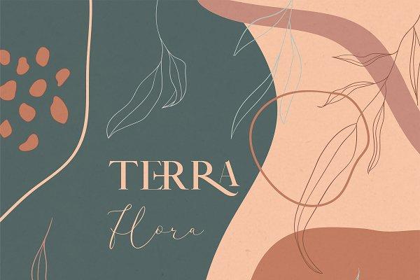 Terra Flora Abstract Collection