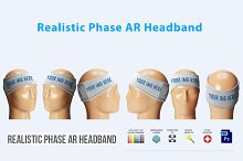 Realistic Phase AR Headband