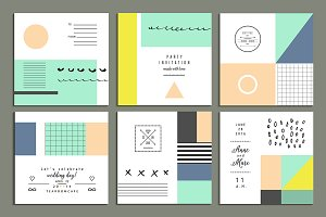 Shape + Color  deco  pack