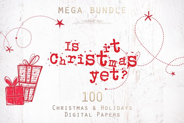 70% OFF Christmas Patterns Bundle