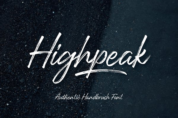 Highpeak - Brush Script