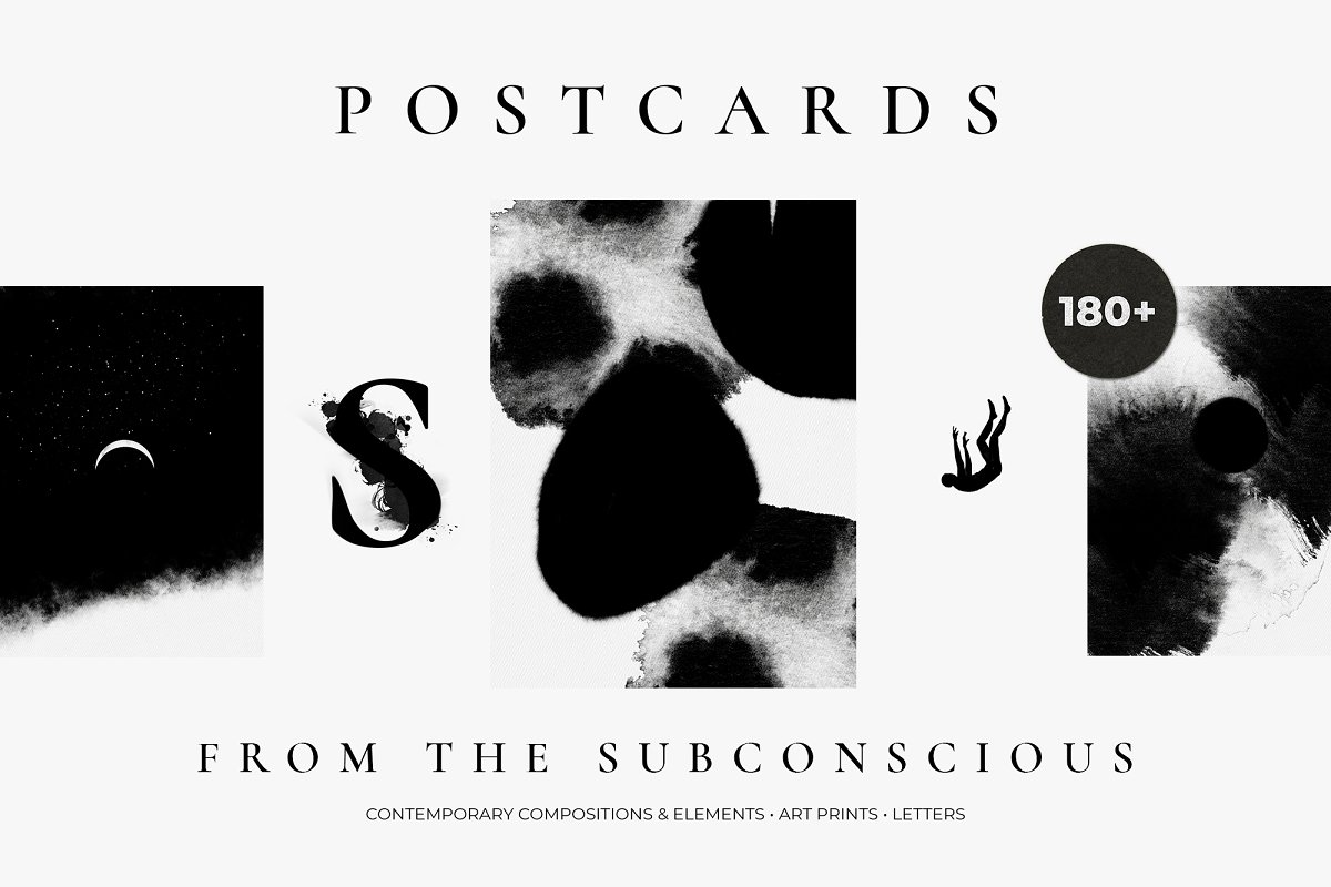 POSTCARDS from the subconscious in Illustrations - product preview 8