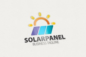 Solar Panel Logo