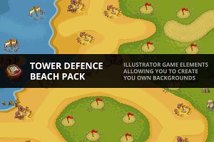 Tower Defence - Beach 1