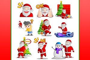 Santa Claus Character Vector 1