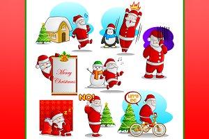 Santa Claus Character Vector 2