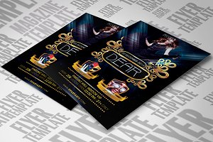 Dear Party Flyer Template