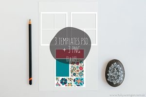 Collage Template 8x10