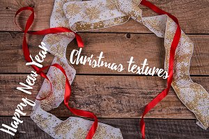 Collection of Christmas texture