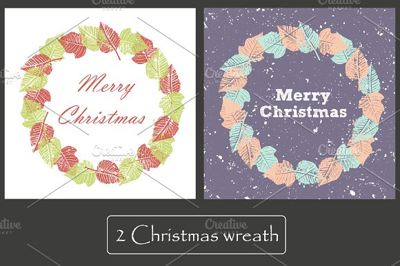 2 Cards. Merry Christmas - Cards