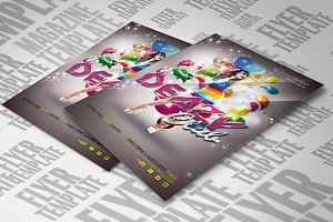 Deazy Club Flyer Template