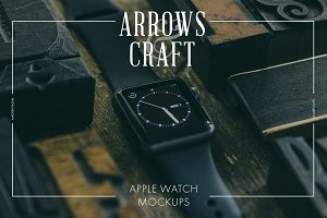 Arrows & Craft - Apple Watch Mockups