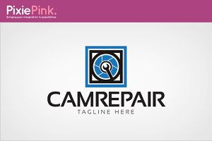 Cam Repair Logo Template
