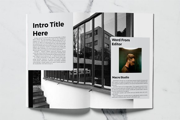 Architect Magazine Template in Magazine Templates - product preview 1