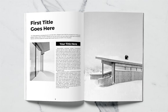 Architect Magazine Template in Magazine Templates - product preview 4