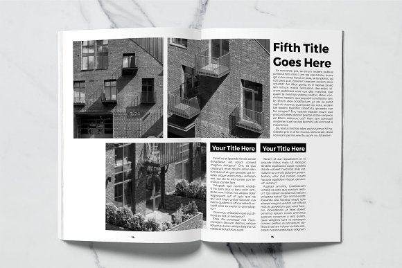 Architect Magazine Template in Magazine Templates - product preview 5