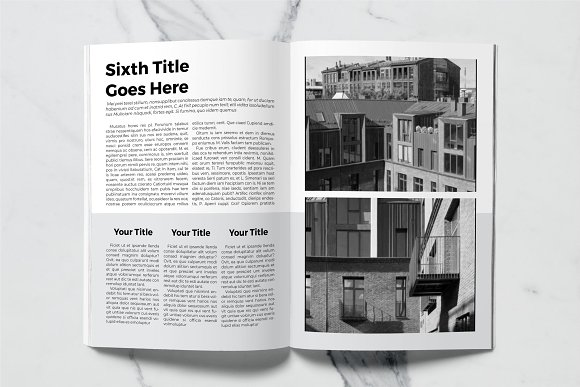Architect Magazine Template in Magazine Templates - product preview 6