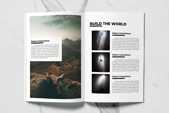 Voyage Magazine Template in Magazine Templates - product preview 2