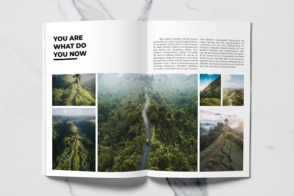 Voyage Magazine Template in Magazine Templates - product preview 3
