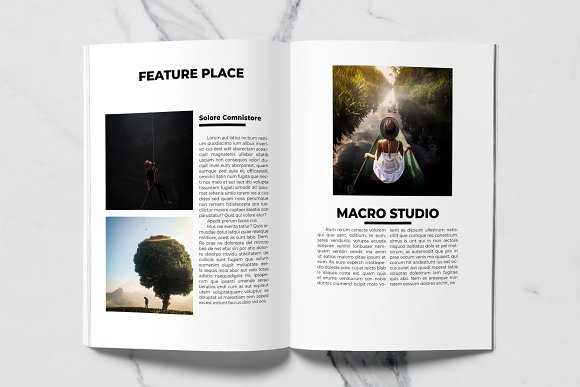 Voyage Magazine Template in Magazine Templates - product preview 4