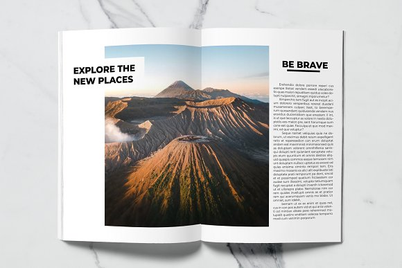 Voyage Magazine Template in Magazine Templates - product preview 5